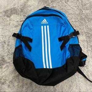 Adidas blue backpack